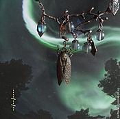 Украшения ручной работы. Ярмарка Мастеров - ручная работа Ожерелье Неумолчная песнь цикад. Handmade.