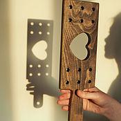 Субкультуры handmade. Livemaster - original item BDSM Spanking, wooden Paddle. Handmade.