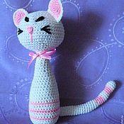 Куклы и игрушки ручной работы. Ярмарка Мастеров - ручная работа стройная кошка. Handmade.