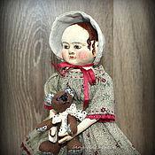 Куклы и игрушки ручной работы. Ярмарка Мастеров - ручная работа Адель. Мини кукла в стиле Izannah Walkr.. Handmade.