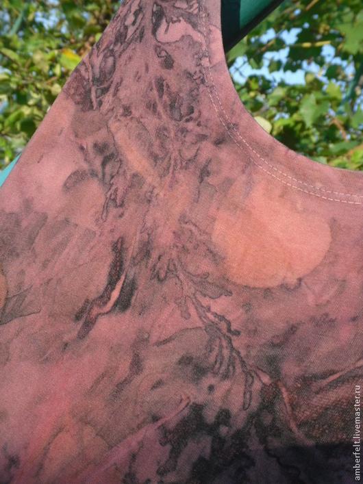 """Платья ручной работы. Ярмарка Мастеров - ручная работа. Купить Платье из хлопкового трикотажа """"Scarlet  """", в эко стиле.. Handmade."""