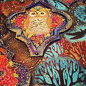 """Картины и панно ручной работы. Ярмарка Мастеров - ручная работа Декоративное панно """"Заколдованный лес"""". Handmade."""