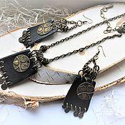 Украшения handmade. Livemaster - original item Owl`s Cry Necklace, Pendant necklace, BOHO necklace. Handmade.
