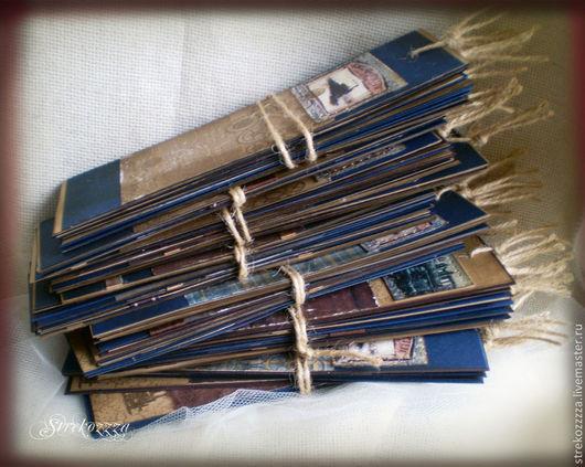 """Закладки для книг ручной работы. Ярмарка Мастеров - ручная работа. Купить Закладки """"Под стук колес"""" ( Свадебные и корпоративные подарки). Handmade."""