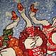 Кухня ручной работы. Мешочек Рождественские песни. Екатерина Кенева (Мельница желаний). Ярмарка Мастеров. Праздничный, мешочек для мелочей