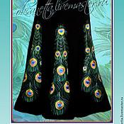 Одежда handmade. Livemaster - original item Embroidery on the skirt