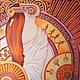 Батик картины для интерьера Ритмы Греции. Панно батик. Коричневый. Розовый. Оранжевый. Фиолетовый. Желтый. Картины для спальни. Картины на стену. Яркие цвета. Чувственность. Оригинальные подарки. Карт