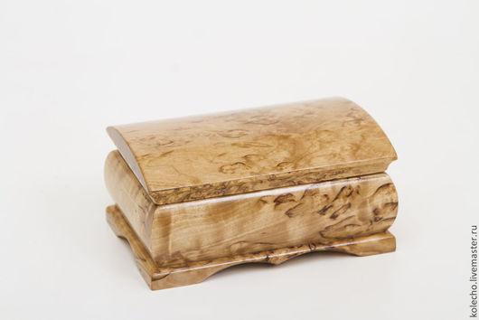Шкатулки ручной работы. Ярмарка Мастеров - ручная работа. Купить Шкатулка из карельской березы. Handmade. Бежевый, сувениры из дерева, шкатулки