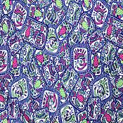 Материалы для творчества ручной работы. Ярмарка Мастеров - ручная работа Плащевая ткань Дьюспо Животные-рисунки. Handmade.