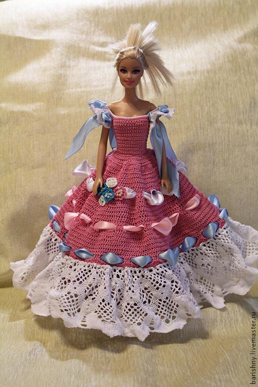 Одежда для кукол ручной работы. Ярмарка Мастеров - ручная работа. Купить Принцесса. Handmade. Бледно-розовый, для девочек, для дома и интерьера