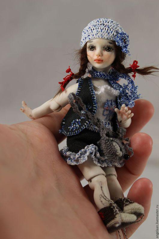 Коллекционные куклы ручной работы. Ярмарка Мастеров - ручная работа. Купить Ташенька (фарфоровая шарнирная куколка). Handmade. Комбинированный, бжд