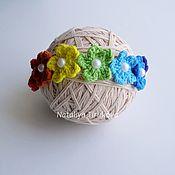 Работы для детей, handmade. Livemaster - original item Head band