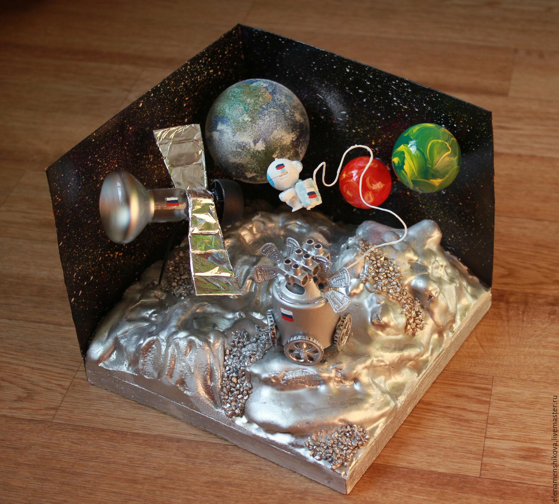 Поделки в сад на тему космос 11