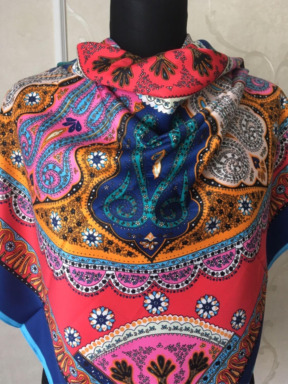 4c80799c0555 Купить Винтаж  Шелковый платок Винтажная одежда и аксессуары. Винтаж   Шелковый платок Etro. Олеся. Интернет-магазин