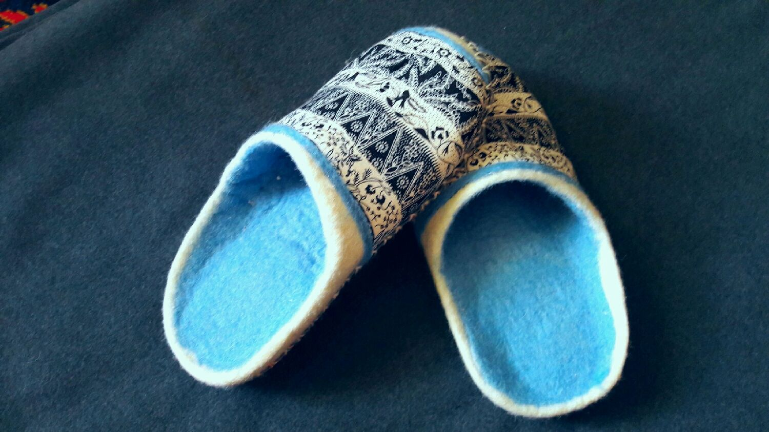 Felted Slippers, Slippers, Moscow,  Фото №1
