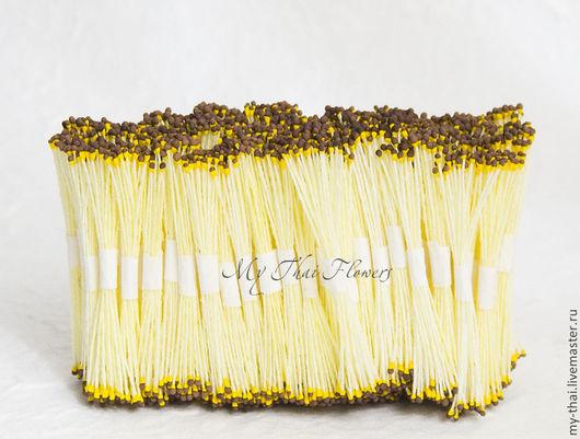 Тычинки коричнево-желтые. Таиланд магазин флористики My Thai.