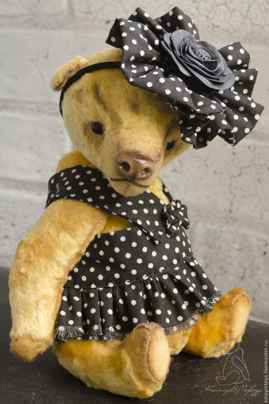 Мишки Тедди ручной работы. Ярмарка Мастеров - ручная работа. Купить Флава д'Урсо. Handmade. Желтый, тедди, опилки древесные