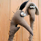 Куклы и игрушки ручной работы. Ярмарка Мастеров - ручная работа Мама, я страуса люблю!. Handmade.