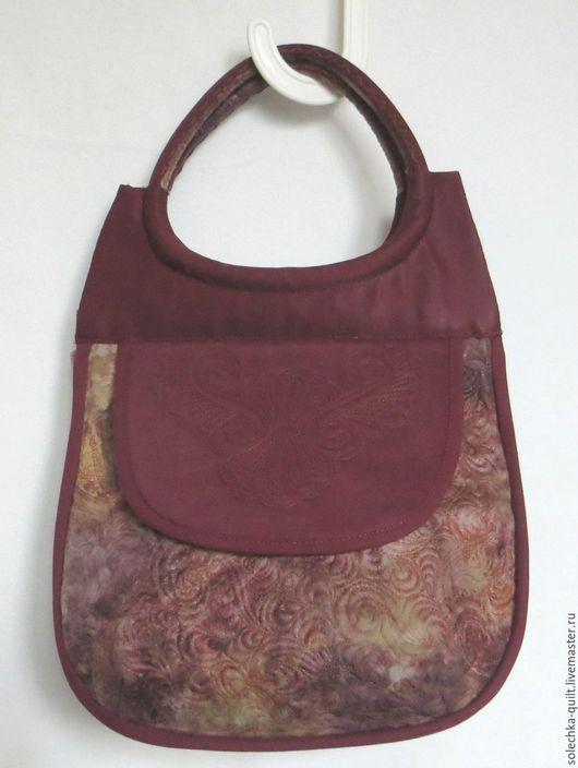 Женские сумки ручной работы. Ярмарка Мастеров - ручная работа. Купить любимая сумочка. Handmade. Бордовый, подарок на любой случай