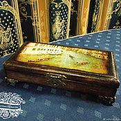 """Шкатулки ручной работы. Ярмарка Мастеров - ручная работа Купюрница """"Старая Венеция"""". Handmade."""