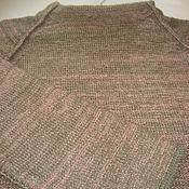"""Одежда ручной работы. Ярмарка Мастеров - ручная работа Свитер вязаный, пуловер """"Степная полынь"""". Handmade."""