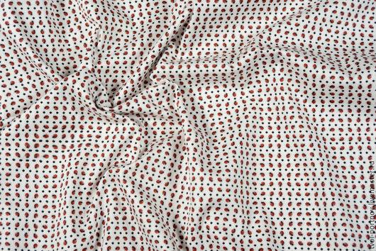 """Шитье ручной работы. Ярмарка Мастеров - ручная работа. Купить Ткань хлопок """"пике"""". Handmade. Белый, итальянский хлопок"""
