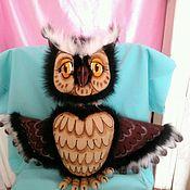 Куклы и игрушки handmade. Livemaster - original item OWL. Tablet puppets.. Handmade.