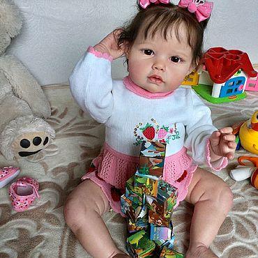 Куклы и игрушки ручной работы. Ярмарка Мастеров - ручная работа Кукла реборн Эля. Handmade.