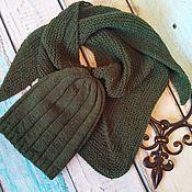 Аксессуары handmade. Livemaster - original item Hat and Bacchus