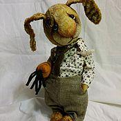 Куклы и игрушки ручной работы. Ярмарка Мастеров - ручная работа Братец Кролик. Handmade.
