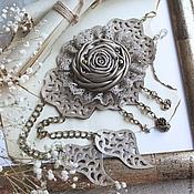 Кожаный браслет Баллада о Прекрасной Даме