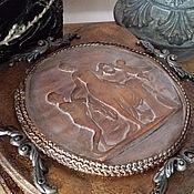Для дома и интерьера ручной работы. Ярмарка Мастеров - ручная работа Шкатулка старинная в греческом стиле. Handmade.