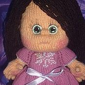 """Куклы и игрушки ручной работы. Ярмарка Мастеров - ручная работа Кукла вязаная """" Танюшка"""".. Handmade."""