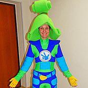 Одежда handmade. Livemaster - original item Fiksik Verta. Animator-actor suit. Handmade.