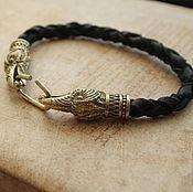 Украшения handmade. Livemaster - original item Bracelets with the Ravens of Odin. Handmade.