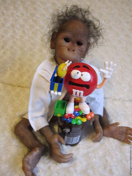 Куклы-младенцы и reborn ручной работы. Ярмарка Мастеров - ручная работа. Купить Кукла реборн орангутан Чунга-Чанга. Handmade.