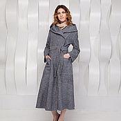 """Одежда ручной работы. Ярмарка Мастеров - ручная работа Пальто демисезонное/ Пальто  """"Утро туманное""""/ Пальто длинное. Handmade."""