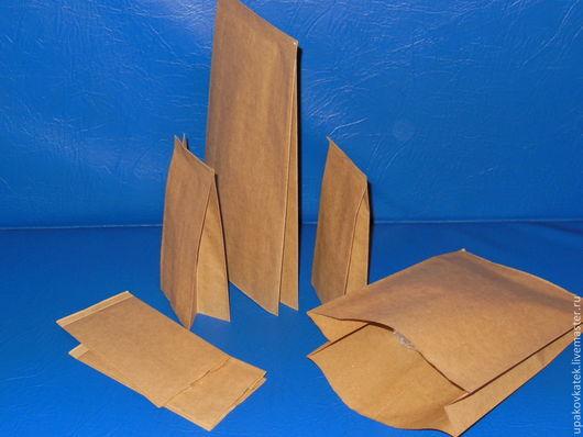 Упаковка ручной работы. Ярмарка Мастеров - ручная работа. Купить Крафт-пакет V-образный с ламинацией и П-образный с ламинацией. Handmade.
