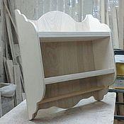 Материалы для творчества handmade. Livemaster - original item wall shelf, storage 106. Handmade.