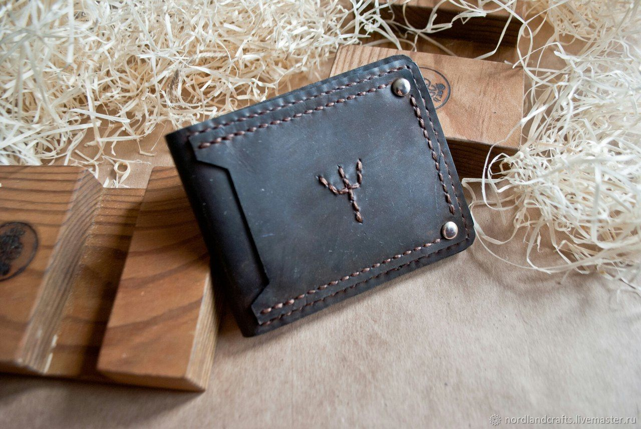Wallet protection leather purse, Wallets, Moscow,  Фото №1