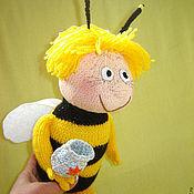 Куклы и игрушки ручной работы. Ярмарка Мастеров - ручная работа Игрушка пчелка Майя. Handmade.