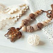 Одежда handmade. Livemaster - original item Slingobusy tortoise brown. Handmade.
