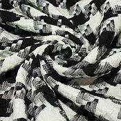 """Материалы для творчества ручной работы. Ярмарка Мастеров - ручная работа Шерсть  плательно-костюмная  S.FERRAGAMO """"гусиная лапка"""". Handmade."""