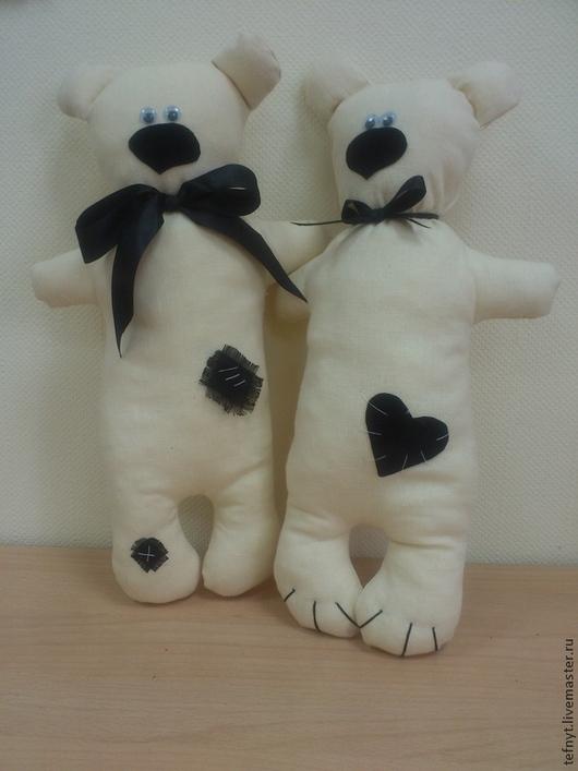 Куклы Тильды ручной работы. Ярмарка Мастеров - ручная работа. Купить Свадебные мишки. Handmade. Белый, мишки Тильды