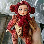 Куклы и игрушки ручной работы. Ярмарка Мастеров - ручная работа Тедди-долл   Обезьянка. Handmade.