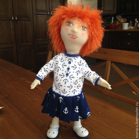 Куклы тыквоголовки ручной работы. Ярмарка Мастеров - ручная работа. Купить Кукла Зося. Handmade. Кукла ручной работы