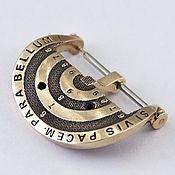 """Часы наручные ручной работы. Ярмарка Мастеров - ручная работа Часовая пряжка (бакля) из бронзы """"Мишень"""" 24 мм. Handmade."""