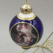 Винтаж ручной работы. Ярмарка Мастеров - ручная работа Шар рождественский от Bradford. Handmade.