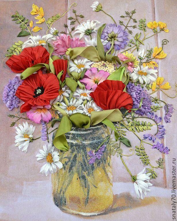 Цветы люди картины