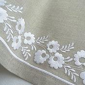 Для дома и интерьера handmade. Livemaster - original item Napkin for Breakfast with embroidery